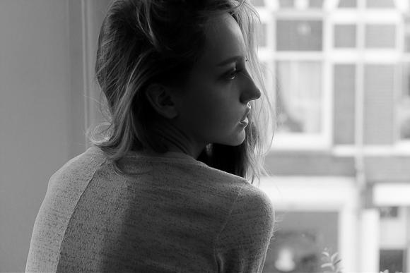 Evelyne in Sunday Sofa Part 1 - Nouveau Noir Photography